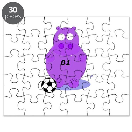 soccer hippo Puzzle