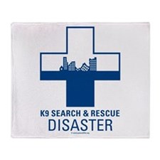 Disaster Crosses Throw Blanket