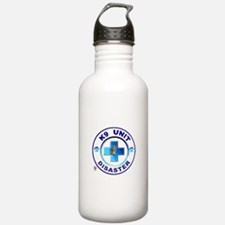 Disaster circles Water Bottle
