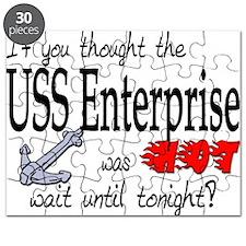 Navy USS Enterprise was hot Puzzle