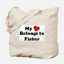 My Heart: Fisher Tote Bag