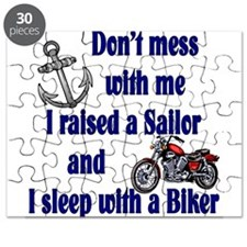 Navy Mom Sleep with a Biker Puzzle