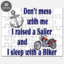 Raised a Sailor Sleep with a Puzzle
