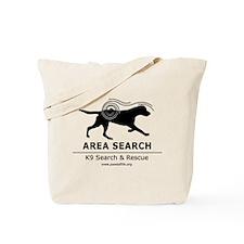 Area Search Tote Bag