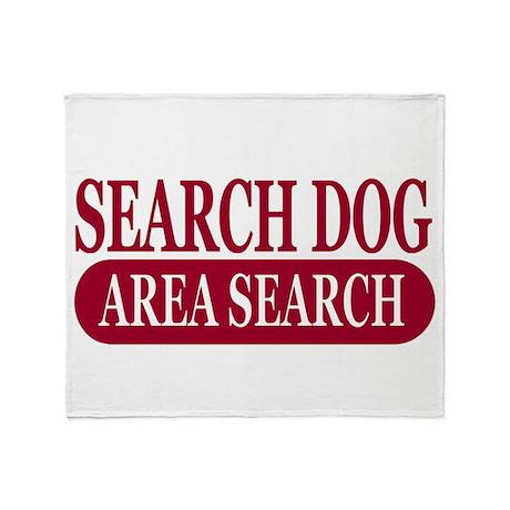 Area Search Athletics Throw Blanket