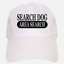 Black Area Search Dog Athleti Baseball Baseball Cap