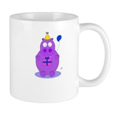 happy birthday hippo Mug