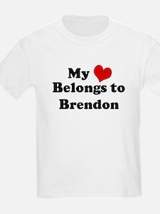 My Heart: Brendon Kids T-Shirt