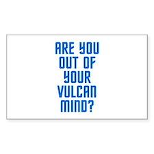Vulcan Decal