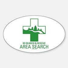 Area Search Crosses Decal