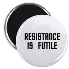 "Resistance is Futile 2.25"" Magnet (100 pack)"