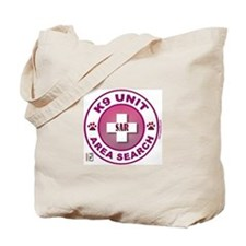 Area Search Circles Tote Bag