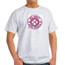 Area Search Circles T-Shirt