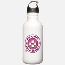 Area Search Circles Water Bottle