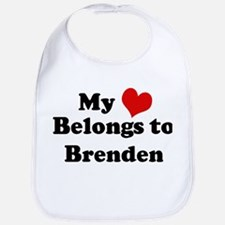 My Heart: Brenden Bib
