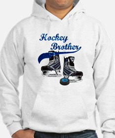 Hockey Brother - Blue Hoodie