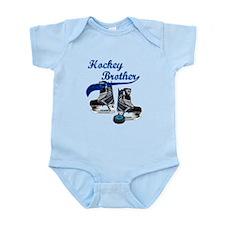 Hockey Brother - Blue Infant Bodysuit