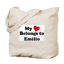 My Heart: Emilio Tote Bag