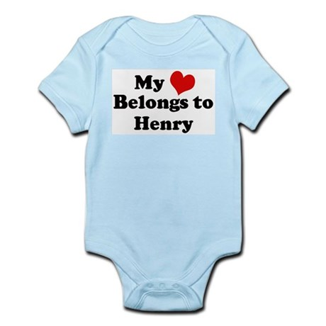 My Heart: Henry Infant Creeper