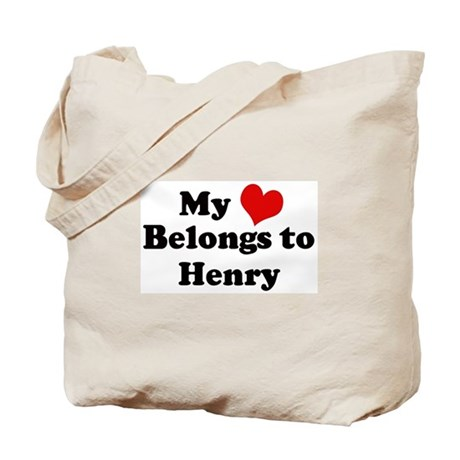 My Heart: Henry Tote Bag