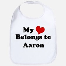 My Heart: Aaron Bib
