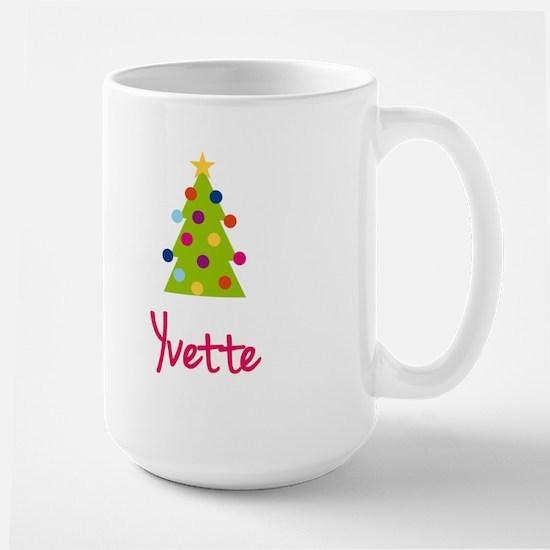 Christmas Tree Yvette Large Mug