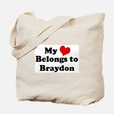 My Heart: Braydon Tote Bag