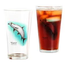 Atlantic Tarpon Drinking Glass
