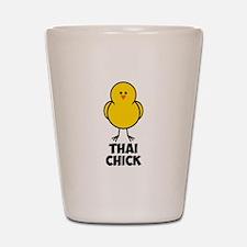 Thai Chick Shot Glass