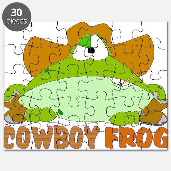COWBOY FROG Puzzle