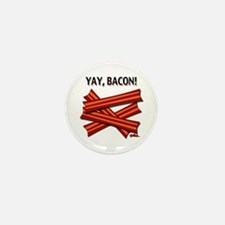 Yay, Bacon! Mini Button (10 pack)