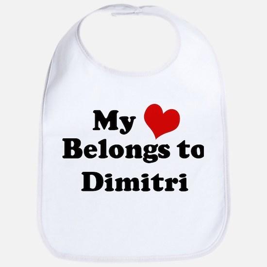 My Heart: Dimitri Bib