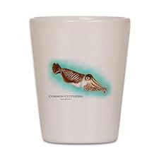 Common Cuttlefish Shot Glass