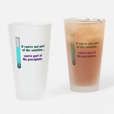 Solution Drinking Glass