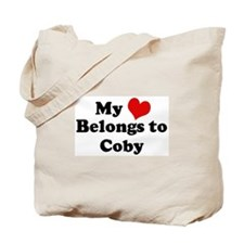 My Heart: Coby Tote Bag