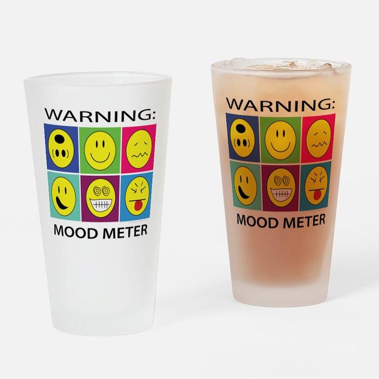 Mood Meter Drinking Glass