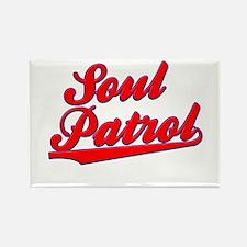 Soul Patrol Swoosh Rectangle Magnet