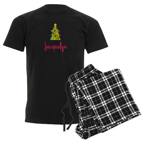 Christmas Tree Jacquelyn Men's Dark Pajamas