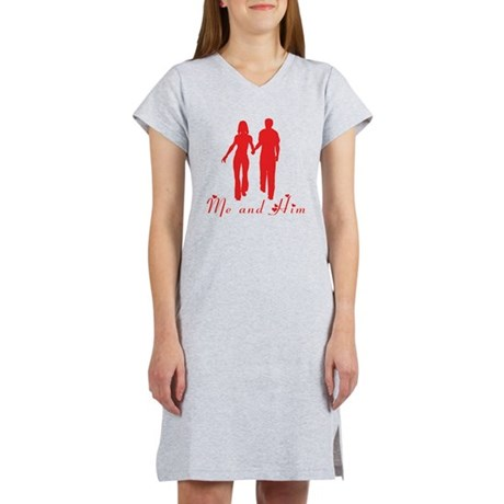 Me and Him Women's Nightshirt