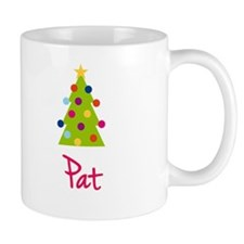 Christmas Tree Pat Mug