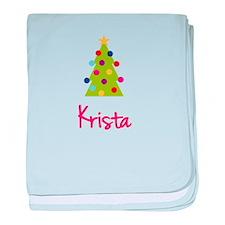 Christmas Tree Krista baby blanket