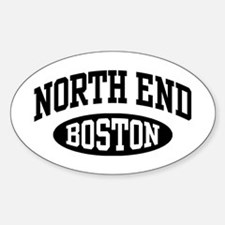 North End Boston Decal