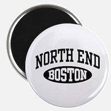 North End Boston Magnet