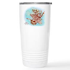 Red Lionfish Travel Mug