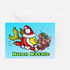 Buon Natale, Merry Christmas Greeting Card