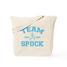 Team Spock - Star Trek Tote Bag