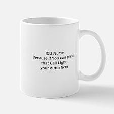 ICU nurse's Don't do Call Lights Mug