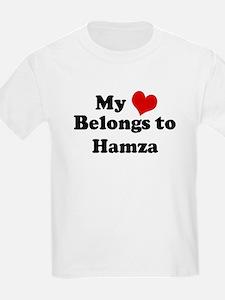My Heart: Hamza Kids T-Shirt