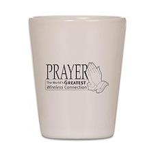"""Prayer"" Shot Glass"