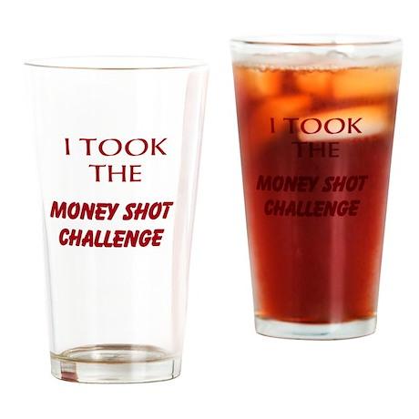 Money Shot Challenge Shot Glass